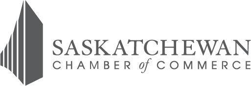 Saskatchewan Chamber of Commerce Logo Greyscale
